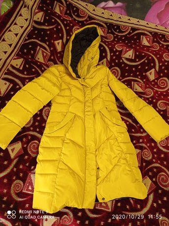 Новая зимняя куртка 42-44р