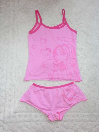 Пижамка на лето на девочку 10-12 лет