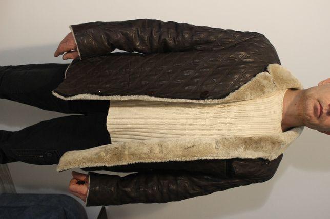 Кожаная куртка. Стеганая курточка