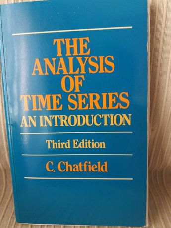 The Analysis of Time Series, an Introduction