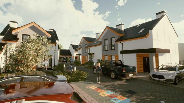 Ksawerów, dom 82 m2 z garażem, ogrodem, tarasem + miejsca post. Gratis