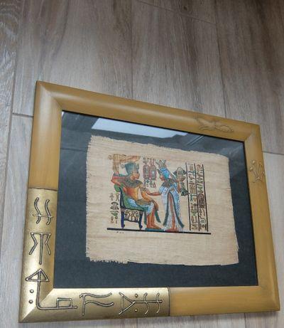 Papirus w ramie 3