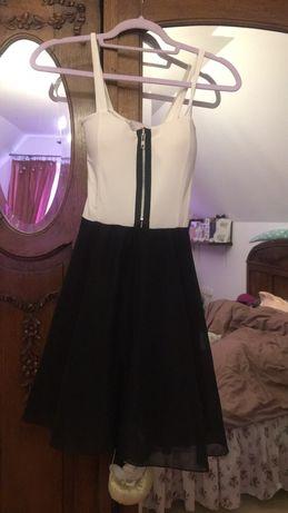 Nowa sukienka Reserved z tiulem u zamkiem