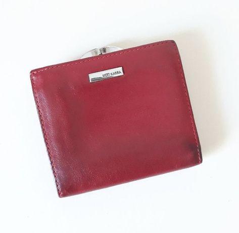 Красный женский кожаный кошелёк Neri Karra, оригинал