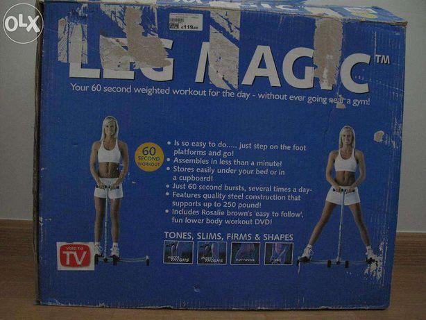 aparelho ginástica LEG MAGIC