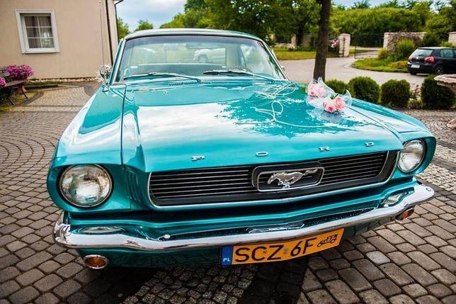 Mustang do ślubu  1966 zabytek Częstochowa okolice