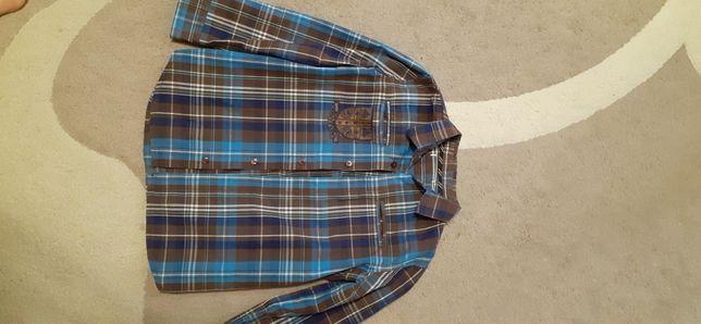 Х/б рубашка на мальчика 5-6 лет