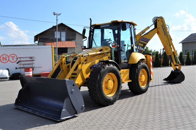 Екскаватор-навантажувач Komatsu WB93S-5 2009, Volvo, JCB