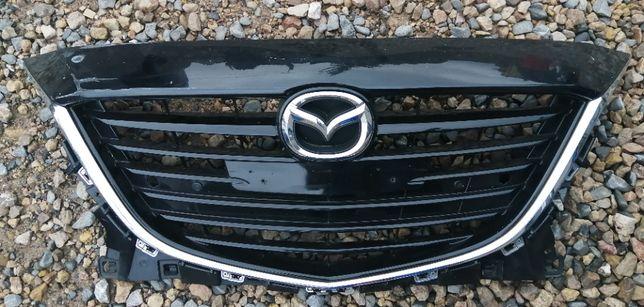 Atrapa chłodnicy grill osłona Mazda III Mazda 3 2013- Bez radaru
