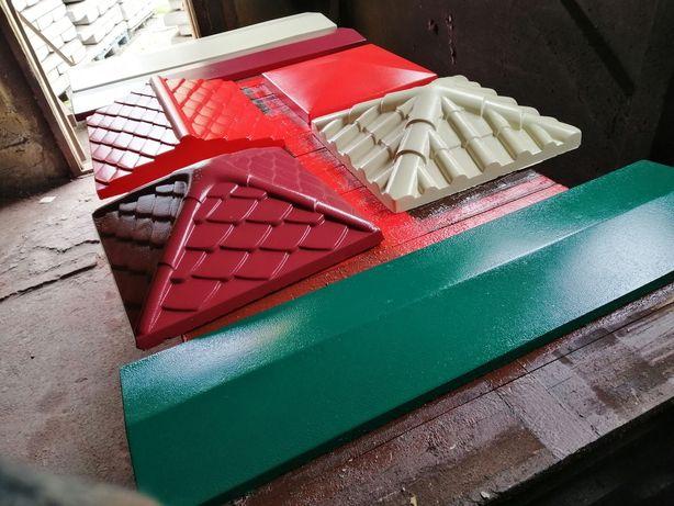 Бетонные изделия! Крышки на забор, парапеты, плиты, бордюры, плитка!