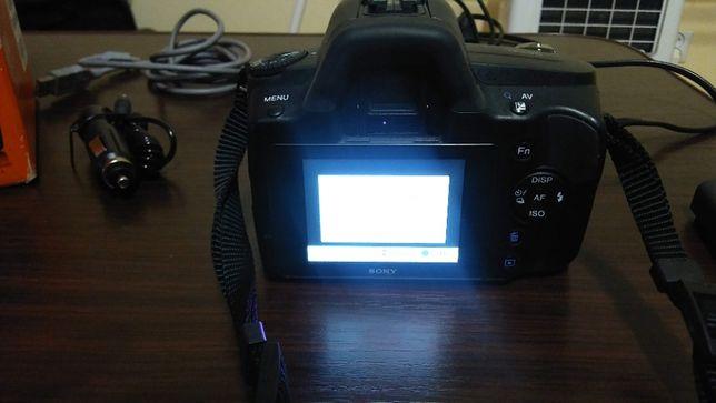 Lustrzanka Sony alpha a290 DSLR-A290L