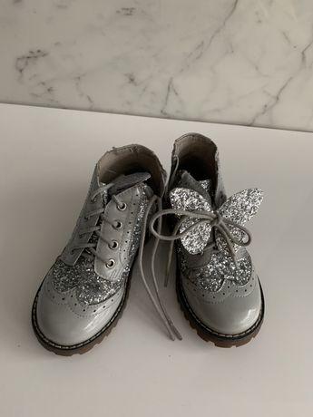 Кожаные Ботинки для девочки 27 р