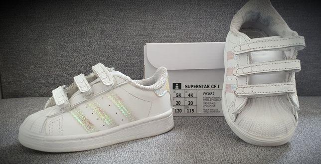 Buty dziecięce Adidas Superstar CF1 rozmiar 20.