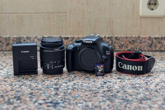 Canon EOS 1100D + EFS 18-55 IS II + Livro de fotografia digital