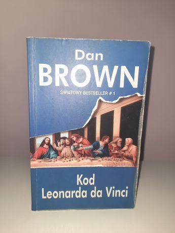 "Dan Brown ,,Kod Leonarda da Vinci"""