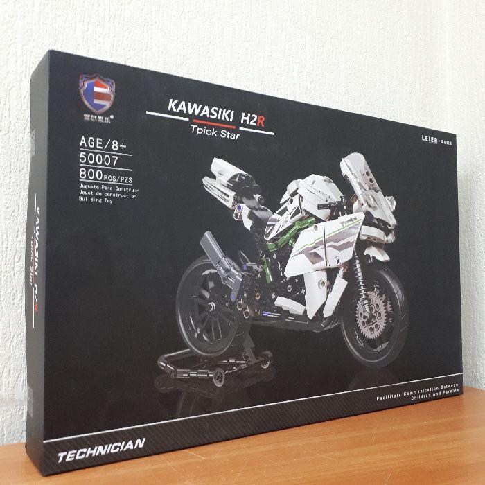 Лего Мотоцикл Кавасаки Конструктор Байк Мототехника 800шт Днепр - изображение 1