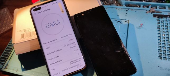 Ecrã, vidro, visor display Huawei p20 p30 P40 pro
