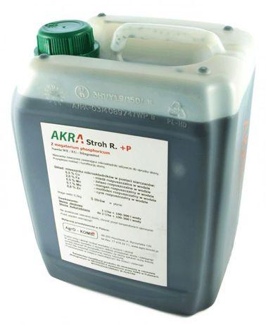 Preparat do rozkładu słomy i resztek pożniwnych - Akra Stroh R+P 10l