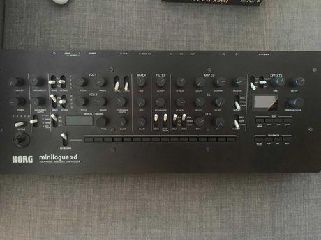 Sintetizador Korg Minilogue XD module