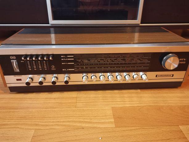 Radio Grundig RTV 380 +głośniki