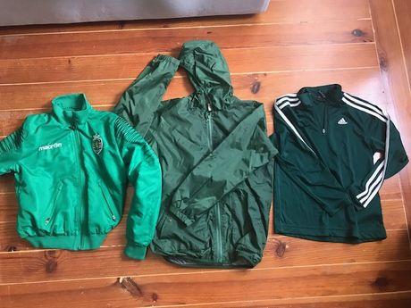 camisola, casaco ADIDAS, MACRON Sporting