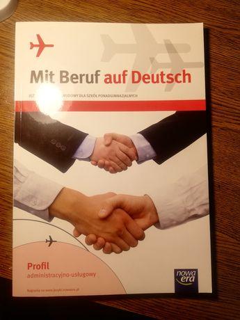 Książka na nauki języka niemieckiego zawodowego
