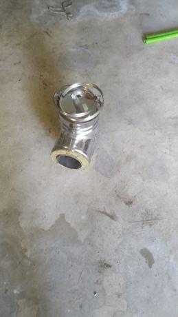 T em inox para manutenção cinzas