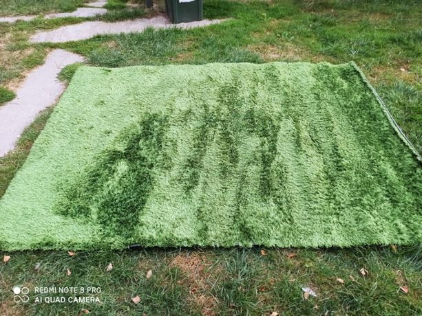 Dywan Zielony