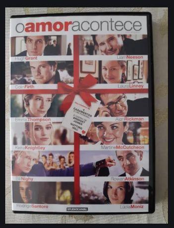 DVD O Amor Acontece Colin Firth Love Actually Filme Lucia Moniz Hugh