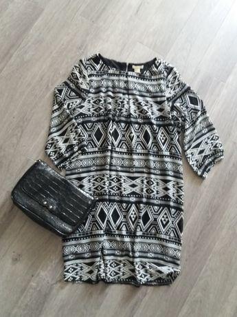 H&M Платье шифоновое