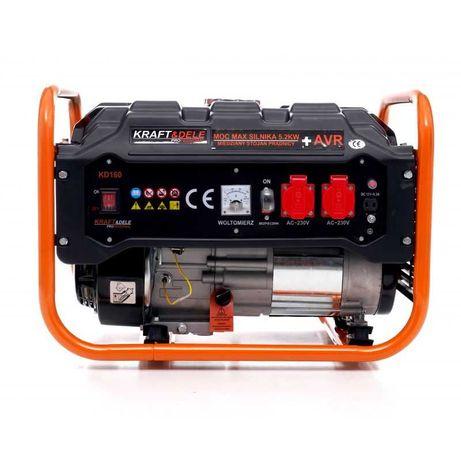 Agregat prądotwórczy generator prądu 5200W AVR miedź uzwojenie olej
