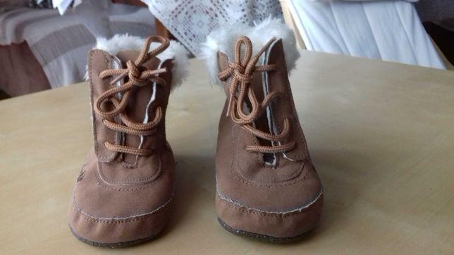 Buciki zimowe niemowlęce rozm 11,5cm