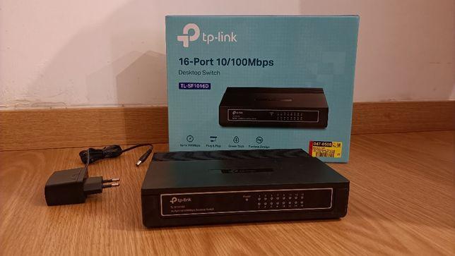 Switch TP-LINK SF1016D 16 PORTAS 10/100MBPS