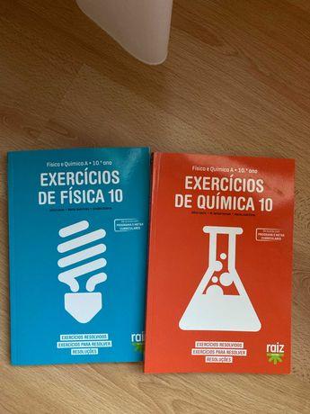 Livros uteis de física e química 10 ano