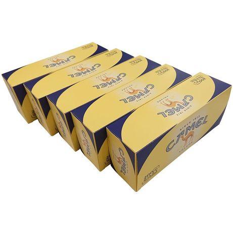 Gilzy Camel 5 x 200 szt do papierosów żółte