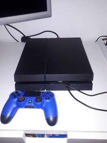 PS4 plus dwie gry