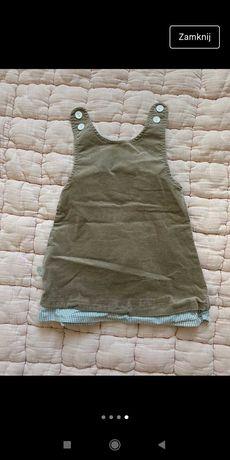 Komplet dla dziewczynki. Sukieneczka + bluzeczka