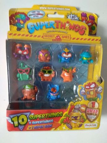 SUPERTHINGS superzings super zings figurki seria 6 blister 10pack