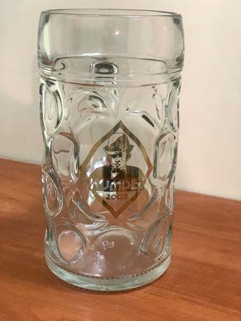 Кухоль бокал для пива 1 л. Кумпель фірмовий