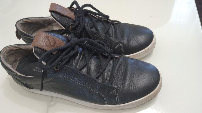Мокасины, туфли кожаные, р.42