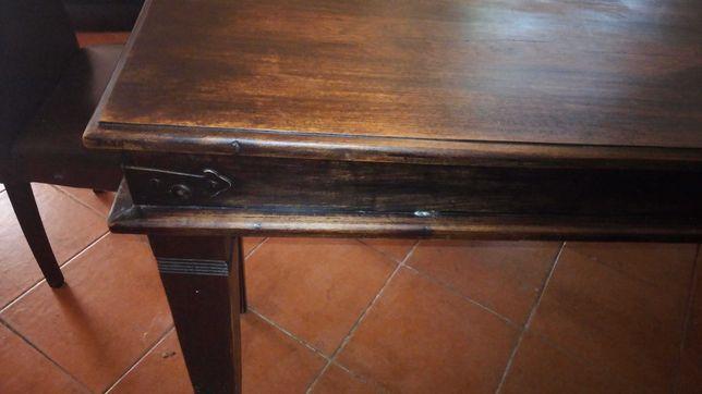 Vendo mesa sala rustica