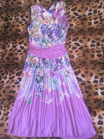 Etro milano шикарное летнее платье 46-48