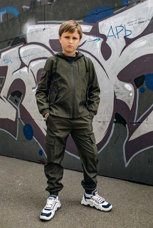 Новинка! Костюм для мальчика. Куртка-ветровка +штаны.Модный и удобный.