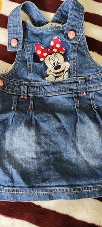 Джинсовый сарафан Disney