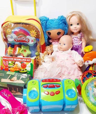 Игрушки,б.у Секонд,second игрушки с Агнглии, дешёвые игрушки, лот