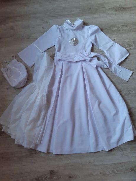 Sukienka komunijna rozmiar 128-134