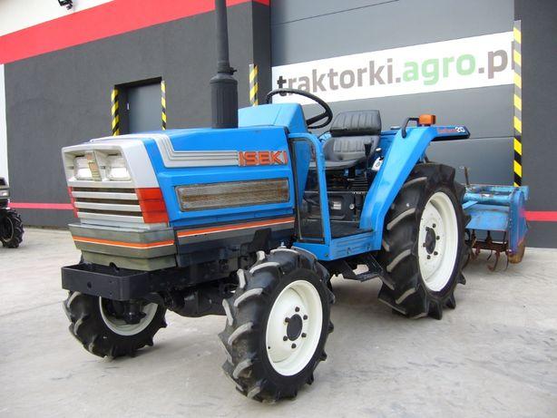 Traktorek , Ciągnik Ogrodniczy ISEKI TA210F , 21KM Import z Japonii