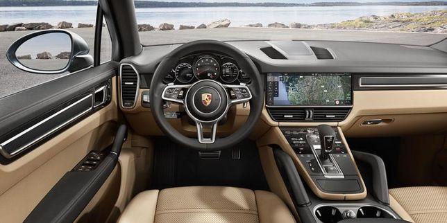 Рестайлинговый руль на Porsche cayenne, panamera, macan