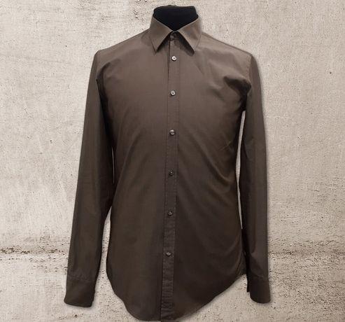 Рубашка Hugo Boss однотонная