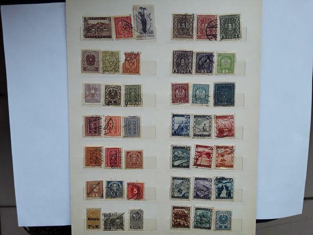 Старые почтовые марки